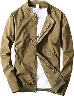 YOUTHUP ジャケット メンズ 秋服 薄手 ブルゾン アウター 長袖 上着 メンズ 日焼け止め 速乾 通気 M-4XL 着心地抜群 カジュアル 全6色