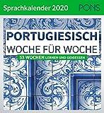 PONS Sprachkalender 2020 Portugiesisch Woche für Woche: 53 Wochen lernen und genießen -
