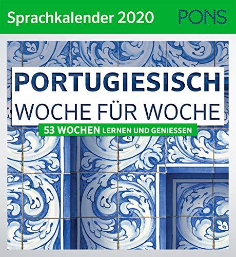 PONS Sprachkalender 2020 Portugiesisch Woche für Woche: 53 Wochen lernen und genießen