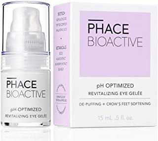 Phace Bioactive Revitalizing Eye Gelee, Anti Aging Eye Cream for Dark Circles, Puffiness, Fine Lines and Wrinkles, Hyaluro...