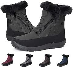 gracosy Hohe Stiefel Damen Warme Fell Gefüttert 2019 Winter