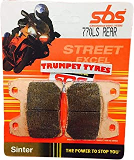 Triumph Tiger 900 Left//Rear 93 94 95 96 97 98 SBS Performance Rear Fast Road Sinter Sintered Brake Pads Set Genuine OE Quality 611LS