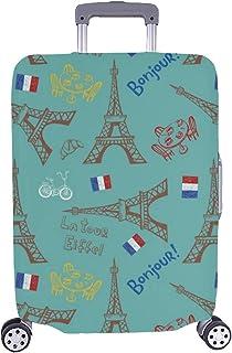 Paris Trolley Coquille Dure Design Pour Vacances Voyage-S Valise EIFFEL FRANCE