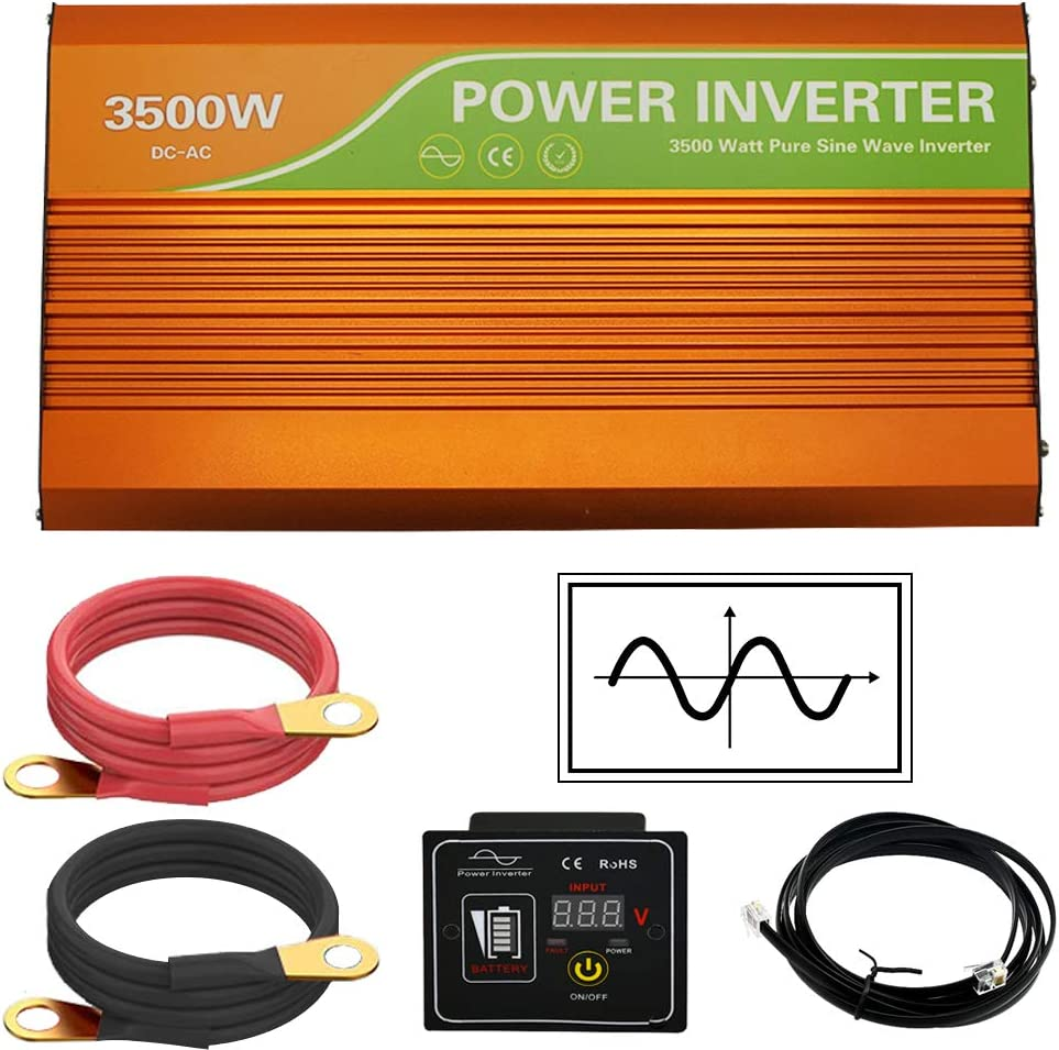 ECO-WORTHY 3500W 48V All-in-ONE Solar Charge Inverter Built-in 80A MPPT Charge Controller