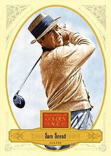 2012 Panini Golden Age Golf Card #96 Sam Snead