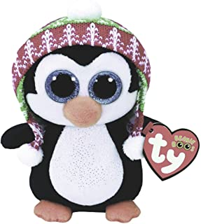 Pelúcia Beanie Boos Ty Pinguim Penelope Dtc 16cm