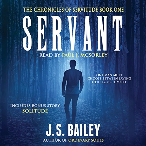 Servant audiobook cover art