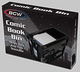 Short Comic BIN - Plastic - Black