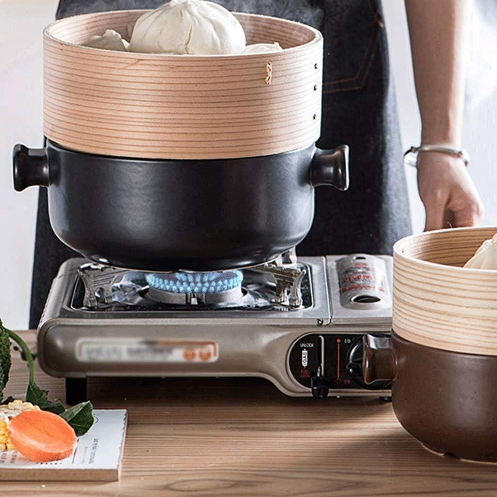SHYOD Casserole antiadhésive en céramique avec Couvercle, Cuisinière à gaz for Casserole antiadhésive en céramique (Color : E) E