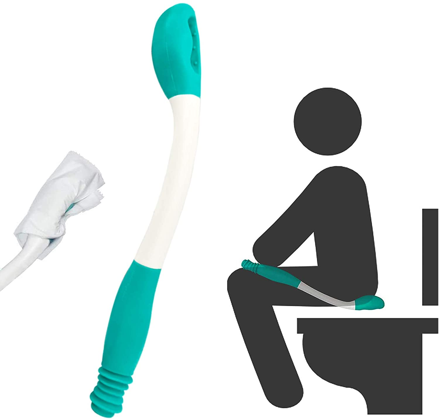 Max Financial sales sale 49% OFF Kirimon Long Reach Comfort Toilet Wiping Aids Tools Self Assis -