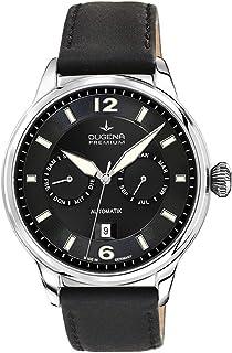 Dugena - Reloj de Pulsera para Hombre Kappa Calendario Analógico Automático Piel 7000304