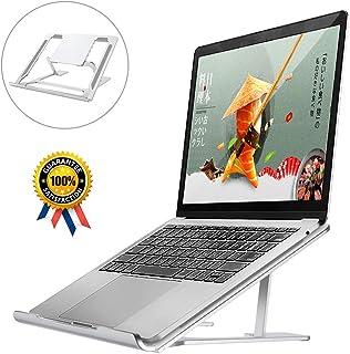 ノートパソコン スタンド PCスタンド 折りたたみ式 HOKEKI アルミ製 高さ/角度調整可能 安定性 滑り止め 軽量 姿勢改善 腰痛/猫背解消 PC/MacBook/ラップトップ/iPad/タブレット