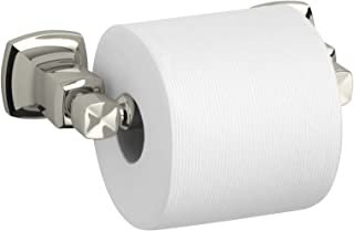 Kohler K-16265-SN Margaux Horizontal Toilet Tissue Holder, Vibrant Polished Nickel