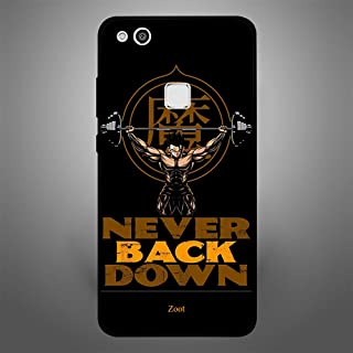 Huawei P10 Lite Never Back Down, Zoot Designer Phone Covers