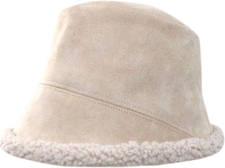 QZUnique Dedication Fishman Hat Warm Bucket Rare Wool Basin S Lamb Plush