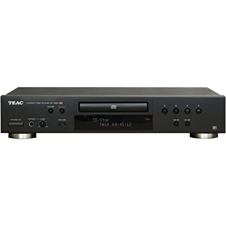 TEAC CD-P650 Home Audio CD Player with USB and iPod Digital Interface - Black