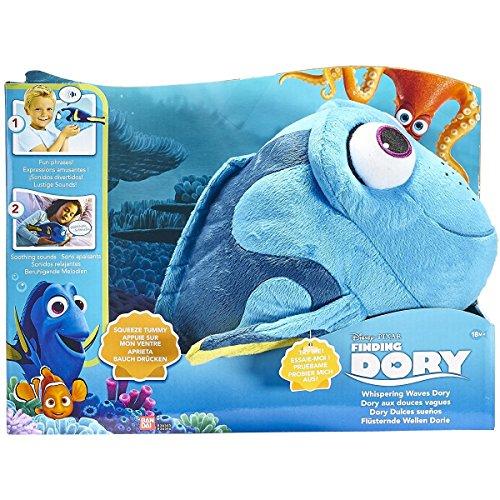 DORY - Dory Interactivo Dolcranne Peluche con sonidos Finding Dory Whispering ondas peluche Dory dulce dormir Bandai 36456