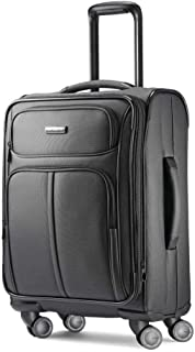 Leverage LTE Expandable Softside Luggage with Spinner Wheels