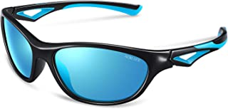 Kids Sunglasses TPEE Rubber Polarized Sports for Boys Girls Toddler Teen and childrens Age 3-7