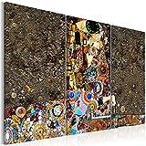 murando - Cuadro en Lienzo 90x60 cm - Abstraccion - Impresión de 3 Piezas Material...