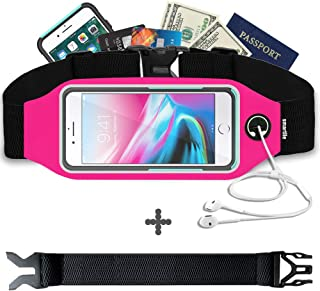 Fanny Pack, Running Belt, Waist Bag for Women & Men for...