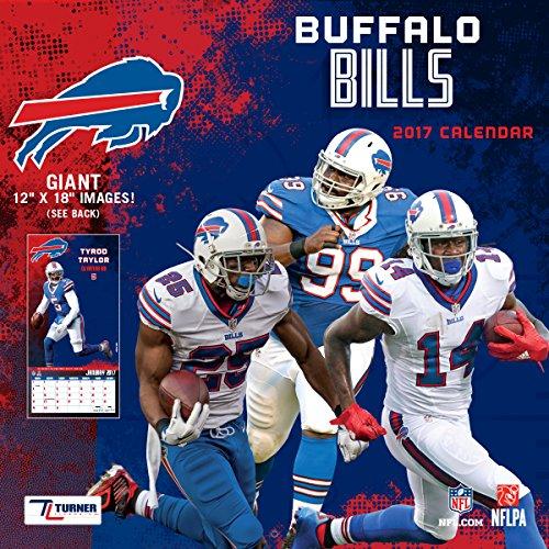 "Turner Licensing Sport 2017 Buffalo Bills Team Wall Calendar, 12""X12"" (17998011902)"