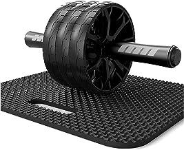 Abdominal Oefening Roller Wheel AB Roller Wiel ABS-trainingsapparatuur for abdominale kernsterkte training oefening Power ...