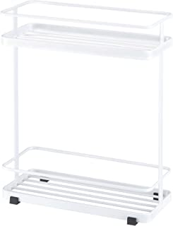 YAMAZAKI home Tower Bath Rack – Bathroom Shower Storage Holder, Caddy Shelf Organizer