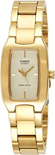 Casio Watch For Women Quartz, Analog Display and Stainless Steel Strap LTP-1165N-9C