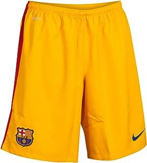 Nike 2015-2016 Barcelona Home Goalkeeper Shorts (Gold) - Kids