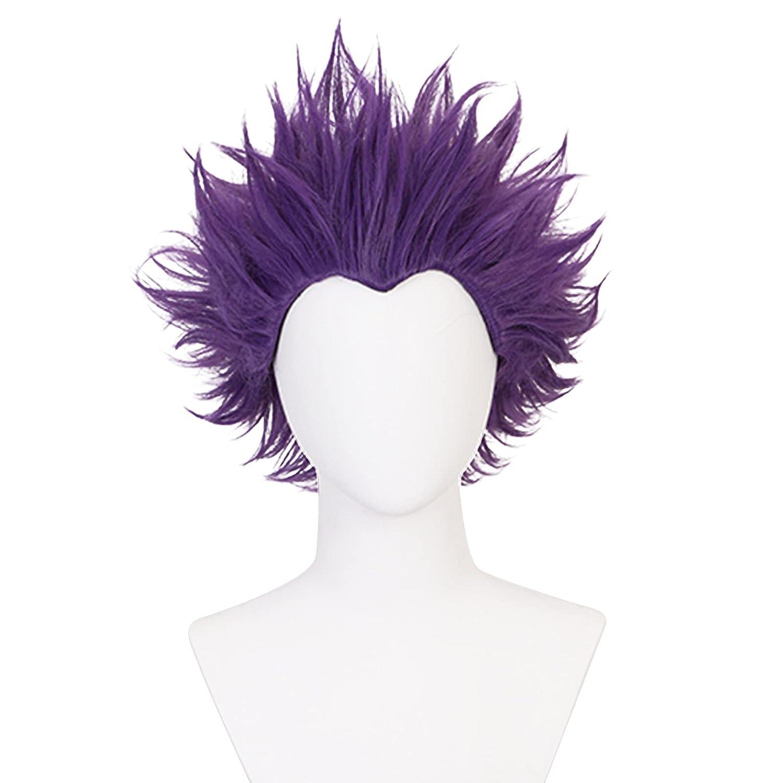 Soyusunny MHA Short Mesa Mall Spiky Cosplay Wigs Women wig Men for Mullet famous