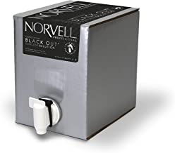 Norvell Premium Professional Sunless Tanning Spray Tan Solution - Competition Black Out, 1 Liter Box