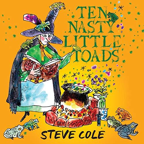 『Ten Nasty Little Toads』のカバーアート