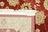 FeelGoodRugs Farahan Ziegler-Teppich, 80 x 250 cm, Rot - 2