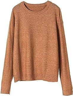 Women's Vintage Lightweight Pullover Crewneck Sweater