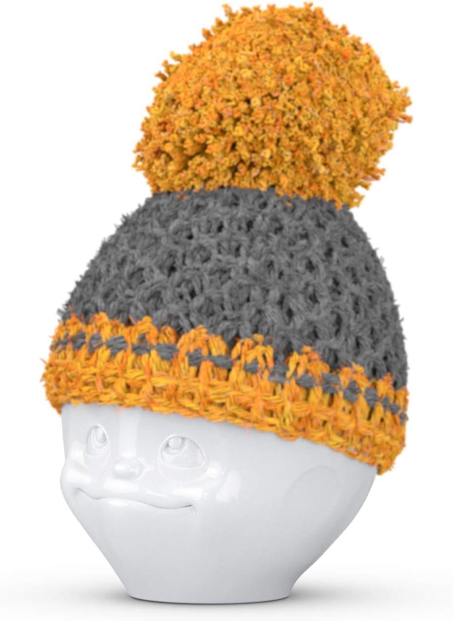 Tassen Fiftyeight grigio arancione Set portauova e cappelli portauova fatti a mano in Germania Cappello coppa uovo stile 3