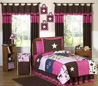 Sweet Jojo Designs 3-Piece Western Horse Cowgirl Teen Bedding Full/Queen Set