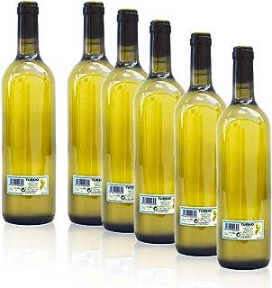 Pack 6 Botellas Vino Turbio Gallego 75 Cl. - Vino Blanco Tú