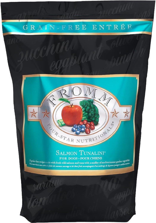 Fromm Four Star Grain Free Dry Dog Food, Salmon Tunalini, 12Lb