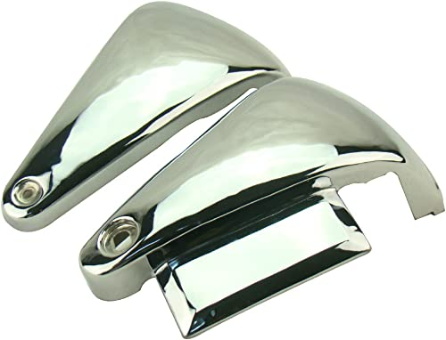 discount Mallofusa Classic Motorcycle Battery Cover Metal Chrome Metal new arrival Side Covers for Kawasaki Vulcan VN800 Classic online / VN800A (Custom) outlet online sale