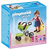 Playmobil - 5491 - Figurine - Maman Et Bébé avec Poussette