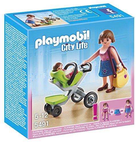 Playmobil Centro Comercial - City Life Madre con su Bebé, S