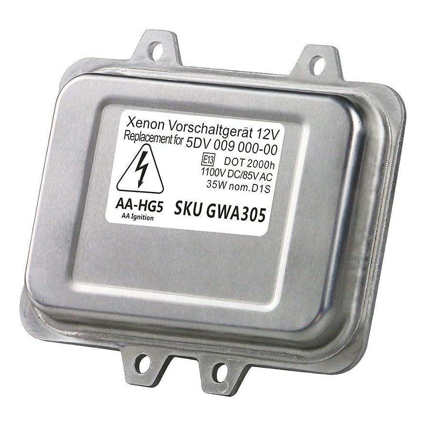 HID Xenon Headlight Ballast - Control Unit Module - Replaces# 12767670, 15782392, A 000 821 1061 - Fits Chrysler Town & Country, Cadillac Escalade, BMW 525i, 545i, X5, 750i, Lincoln Zephyr (Renewed) gmkdmwmistffu935