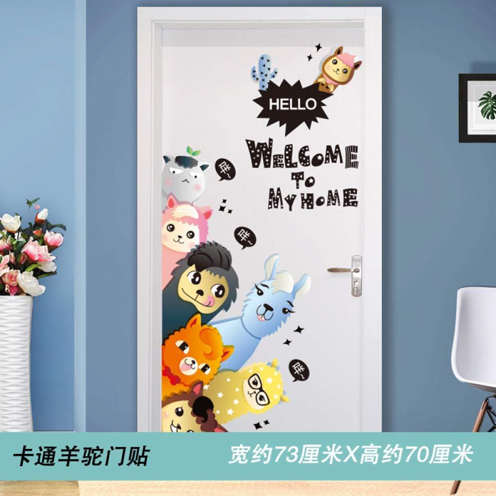 Stickers muraux de chambre créatif dessin animé enfants stickers