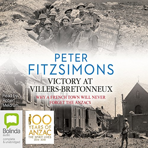 Victory at Villers-Bretonneux audiobook cover art
