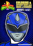 Bendon Coloring and Activity Book with Mask (Blue Mask), Power Rangers