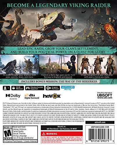61euM9wvIQL - Assassin's Creed Valhalla PlayStation 5 Standard Edition