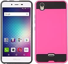 Blu Studio G Max S570Q Cellphone Case, [Tough Hybrid][Armor][Shockproof][Dual Layer][Drop Protection] Case (VGC Pink)