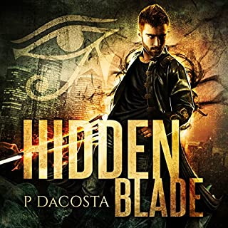Hidden Blade audiobook cover art