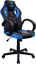 Cadeira Gamer Evolut Eg-901 azul e preta